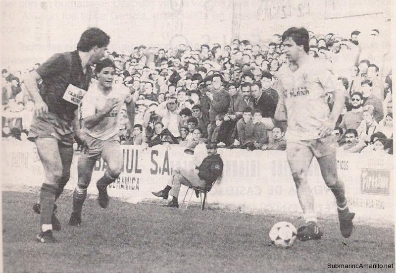 Sebastián Nadal y Adriano, año 1987