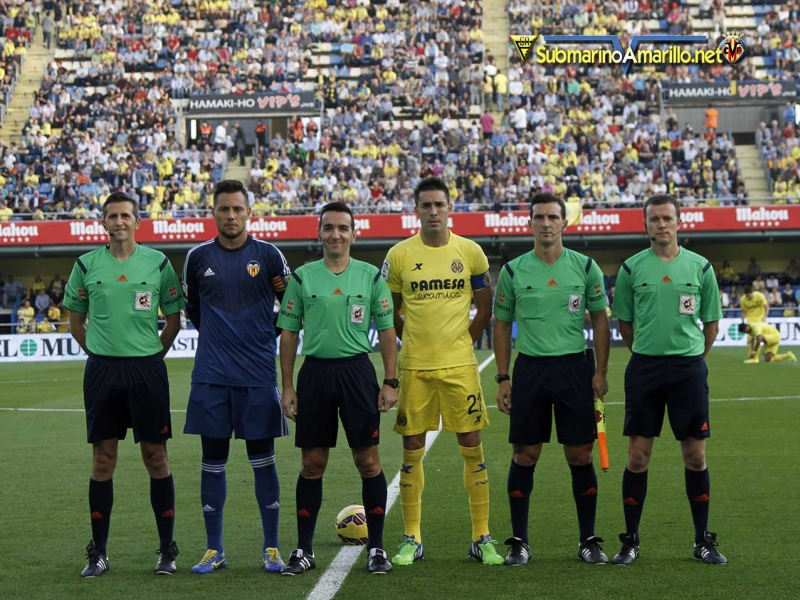 Capitanes y árbitros