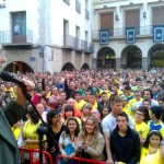 Roig aclamado en la Plaza Mayor de Vila-real