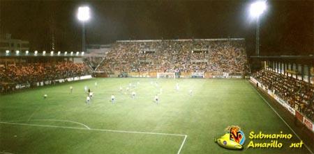 Afición del Villarreal, su debut en Primera