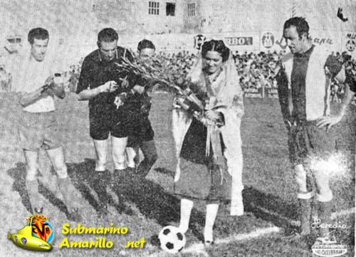 villarreal depor1970 - Un Villarreal-Deportivo en el debut de El Madrigal en Segunda (1970)