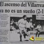 El Villarreal y el Salamanca en la promoción de 1992