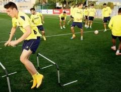 Entrenamiento del Villarreal