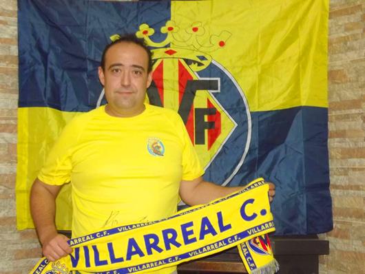 """javierperezpresidentepardals - """"Es un orgullo formar parte de la primera peña del Villarreal en la Vall"""""""