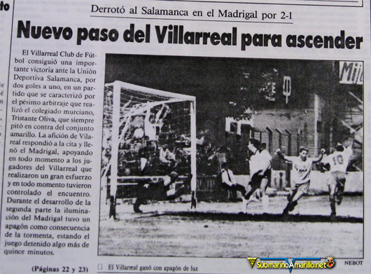 villarreal salamanca - Hasta siempre UD Salamanca