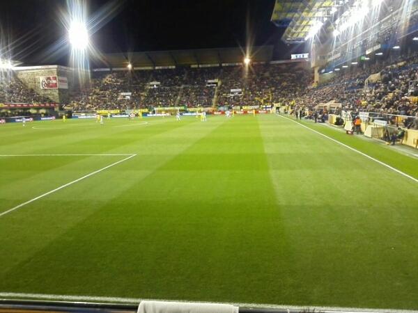 Gran entrada para ver el Villarreal-Real Sociedad