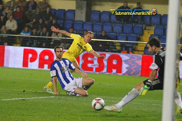 Copa del Rey: El Villarreal merece más, pero encarrila la eliminatoria