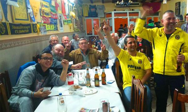 groguets euforicos victoria en salzburg - Salzburgo 1-Villarreal 3: Otra noche feliz para los groguets...