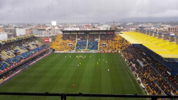 Afluencia de espectadores Villarreal-Sevilla