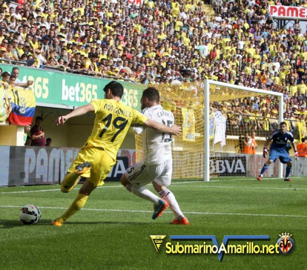 El Villarreal es el equipo con menos penaltis a favor de toda la liga