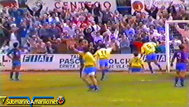 VideoVintage: Revivimos un Villarreal-Alzira de la 87/88