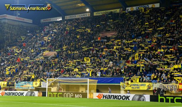 Algunas fotos del Villarreal-Sevilla (Europa League)