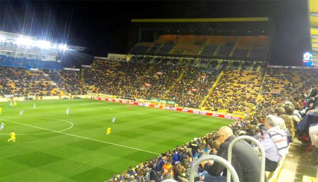 14.366 espectadores acudieron a El Madrigal