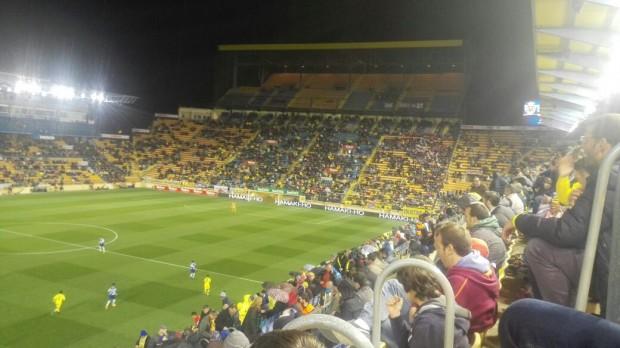 Unos 13.000 espectadores asistieron al Villarreal-Espanyol