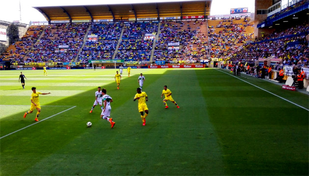 Capbell anotó su primer gol como jugador del Villarreal CF