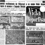Un 7 de Julio, fecha del primer ascenso a Segunda del Villarreal CF