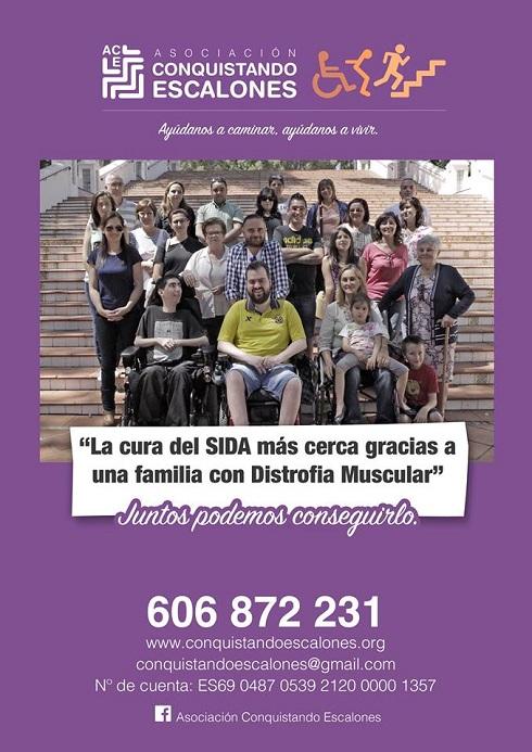 Apoyo del VillarrealCF a la cura de la Distrofia LGMD-1F y el SIDA