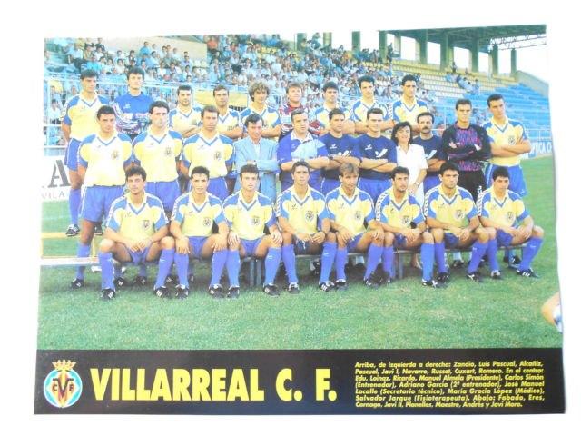 El Villarreal CF en la 93/94… al patadón