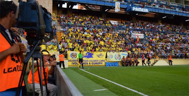 El Villarreal es el 7º equipo de Primera con mayor audiencia televisiva