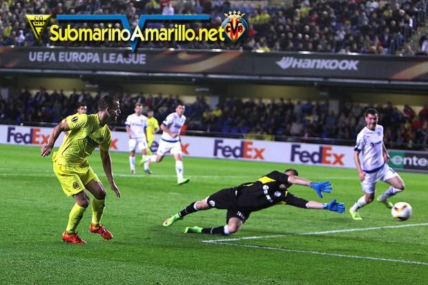 Galería de fotos Villarreal CF-Dinamo de Minsk
