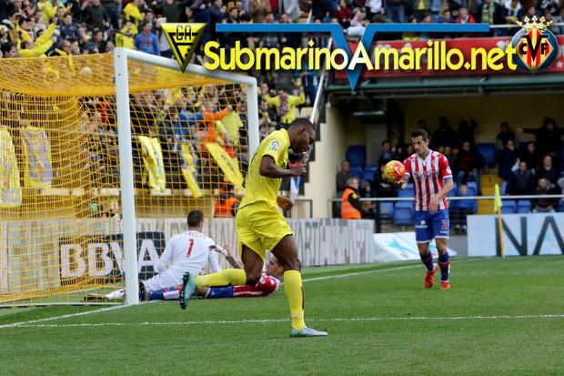 Villarreal-Sporting, las fotos
