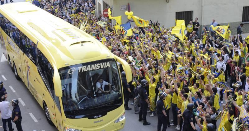 autobus villarreal cf - Nuestro sentimiento sin límites por el Villarreal CF