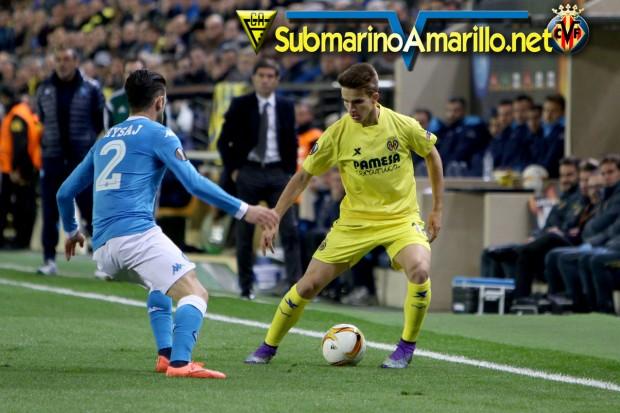Así saldrá a jugar el Villarreal en Napoli (posible once)