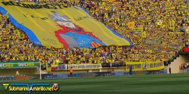 tifo1 650x324 - Nuestro sentimiento sin límites por el Villarreal CF