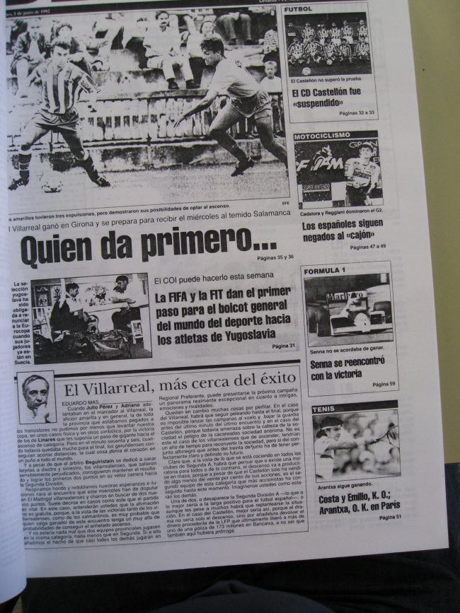 IMG 1978 1 650x867 - Un 28 de Junio: ascenso del Villarreal CF en La línea