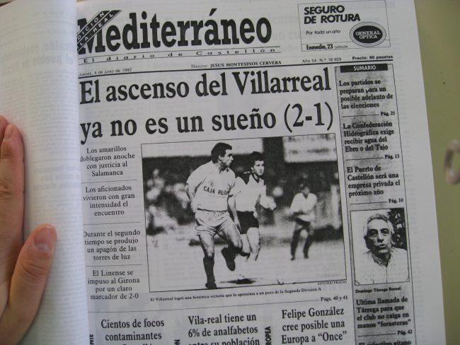 IMG 1981 650x488 - Un 28 de Junio: ascenso del Villarreal CF en La línea