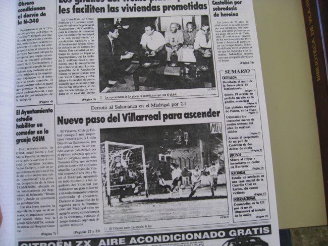 IMG 1982 650x488 - Un 28 de Junio: ascenso del Villarreal CF en La línea