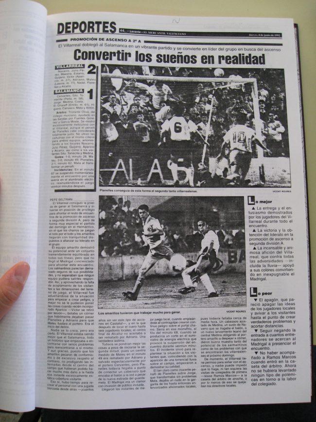 IMG 1988 650x867 - Un 28 de Junio: ascenso del Villarreal CF en La línea