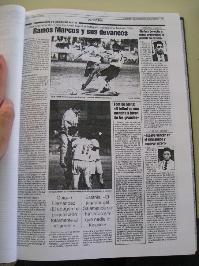 IMG 1989 650x867 - Un 28 de Junio: ascenso del Villarreal CF en La línea