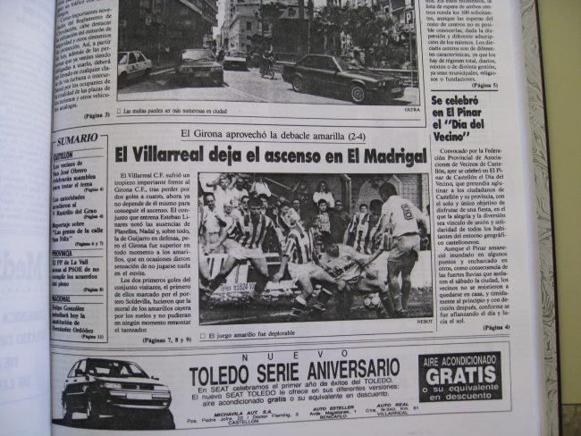 IMG 1994 650x488 - Un 28 de Junio: ascenso del Villarreal CF en La línea