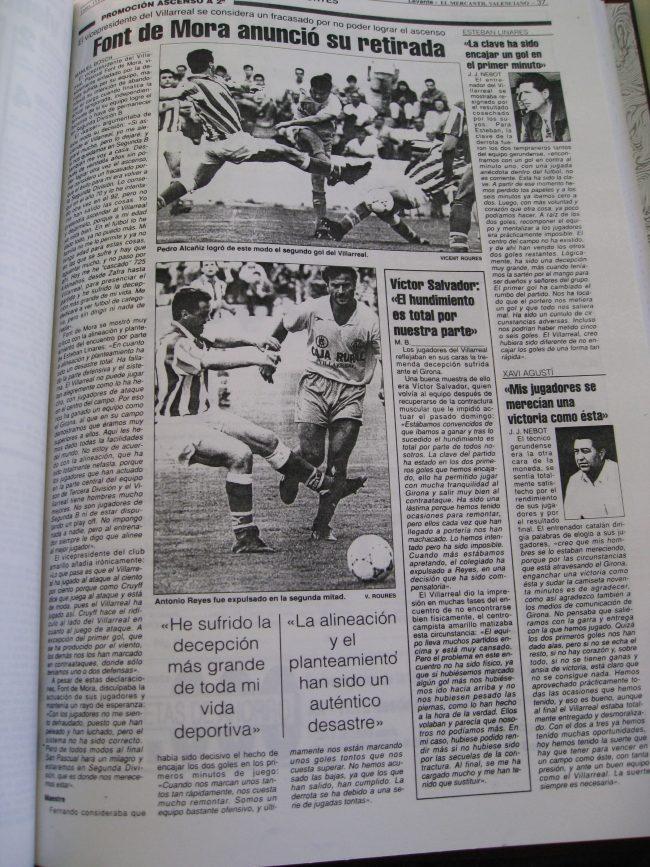 IMG 1997 1 650x867 - Un 28 de Junio: ascenso del Villarreal CF en La línea