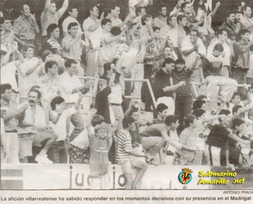 fondo norte - Un 28 de Junio: ascenso del Villarreal CF en La línea