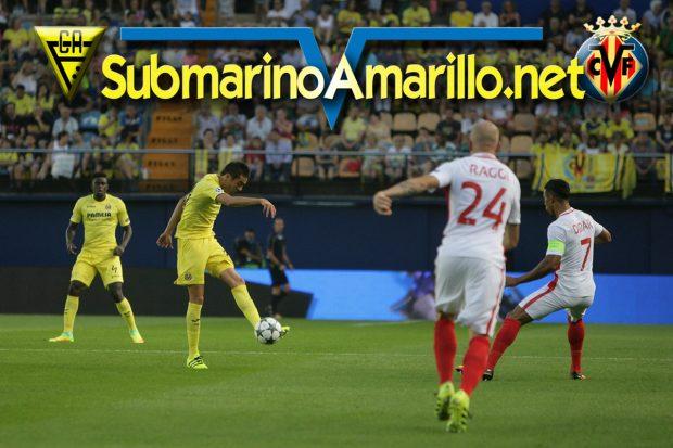 El Villarreal da demasiadas facilidades al Mónaco (1-2)