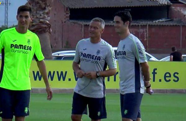 """Escribá """"Nuestra ilusión es llegar lejos en Europa League"""""""