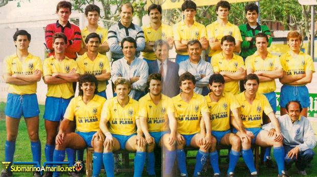 Villarreal-Valencia de Copa en 1986