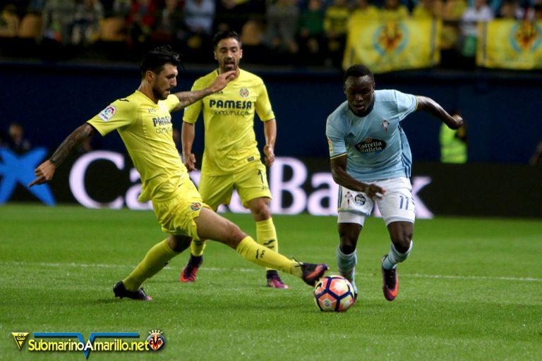 El Villarreal arrasa al Celta