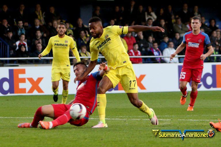 Villarreal-Steaua, que maneras de sufrir…