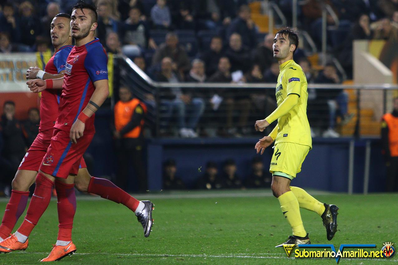 Fotos del Villarreal-Steaua