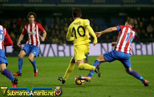 El Villarreal apaliza al Atlético de Madrid