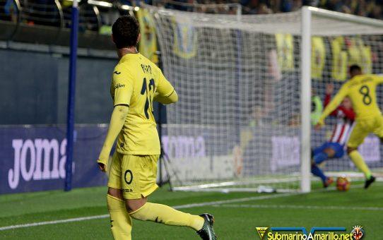 Las fotos del Villarreal-Atlético de Madrid