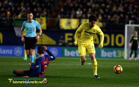 Messi salva a su equipo en El Madrigal