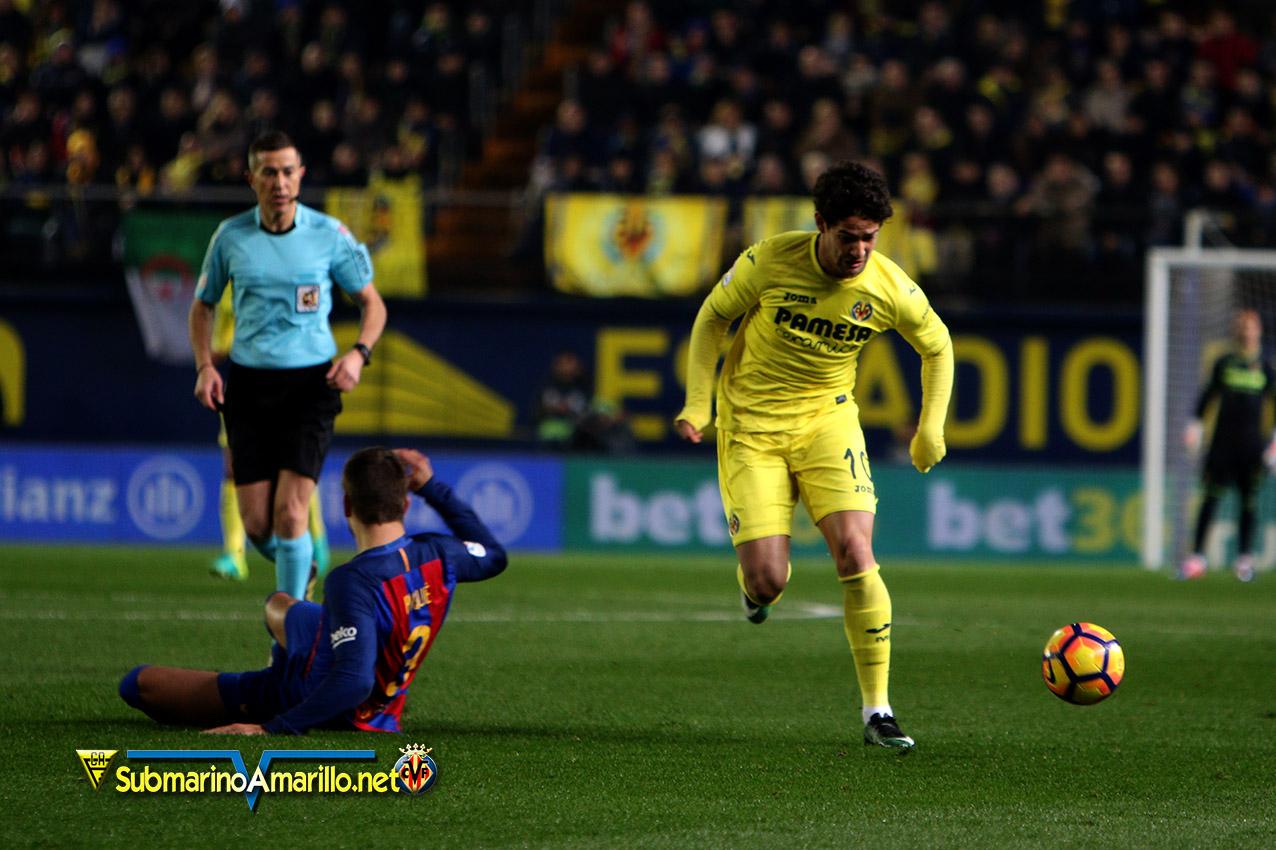 barsa - Messi salva a su equipo en El Madrigal