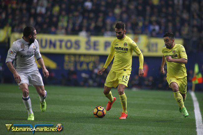 4A5O4111 copia 650x433 - Las fotos del Villarreal CF-Real Madrid