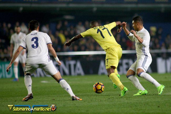 4A5O4151 copia 650x433 - Las fotos del Villarreal CF-Real Madrid