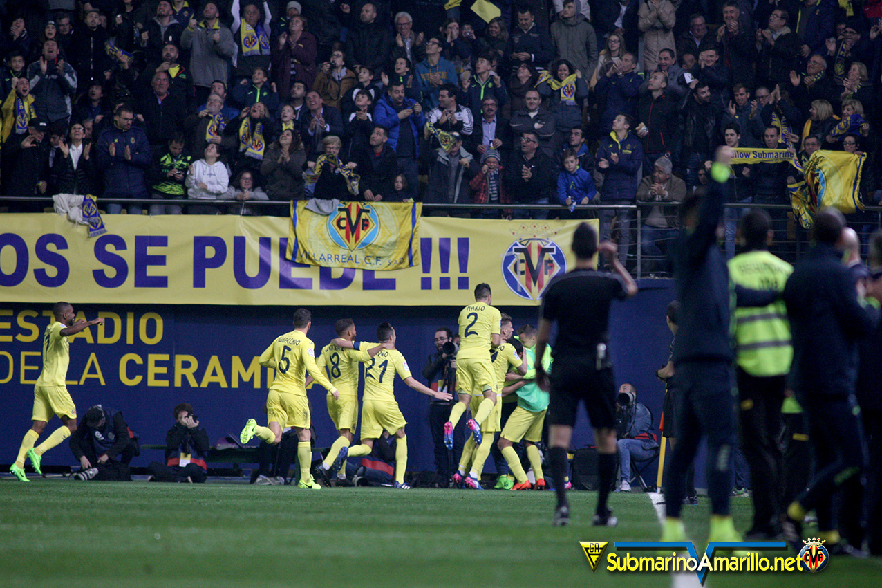 fotos del Villarreal CF-Real Madrid