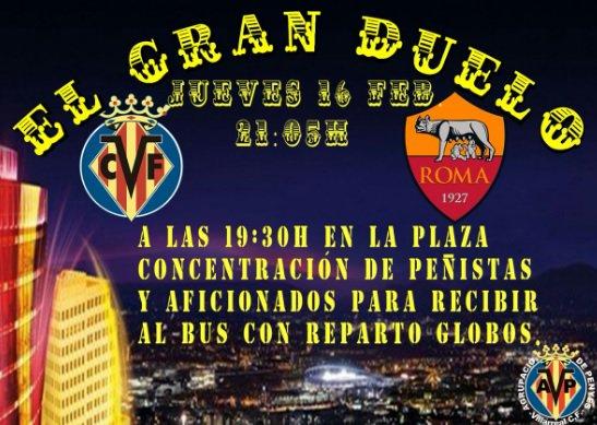 Recibimiento multitudinario afición Villarreal CF